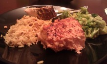 Atlantic Salmon, Brocolli, & Rice Pilaf