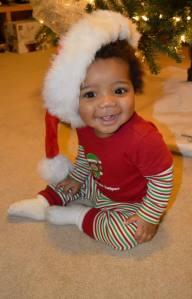 Christian's 1st Christmas