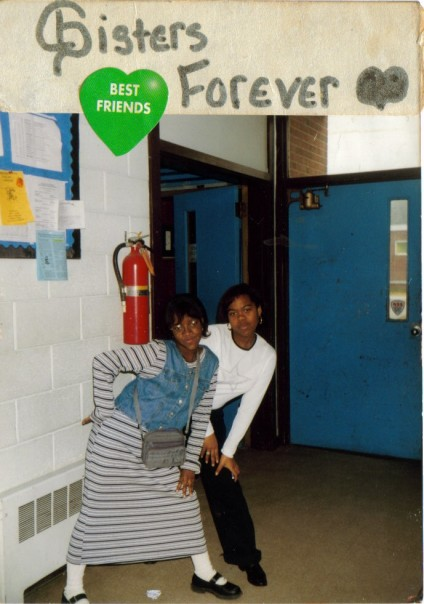 The Band Room with V, 6th Grade (Please disregard the socks)