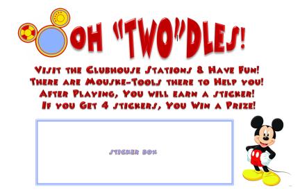 twodles card